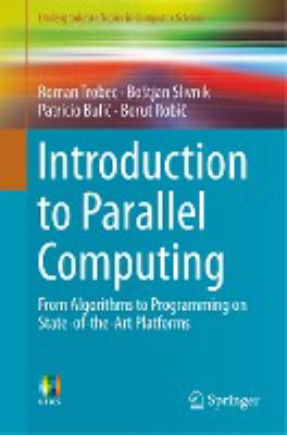 book cover: Introduction to Parallel Computing