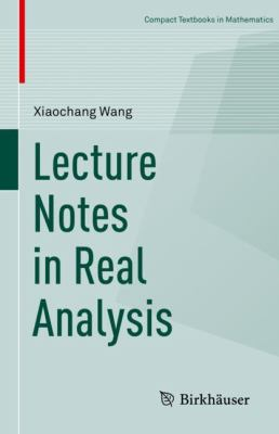 book cover: Lecture Notes in Real Analysis