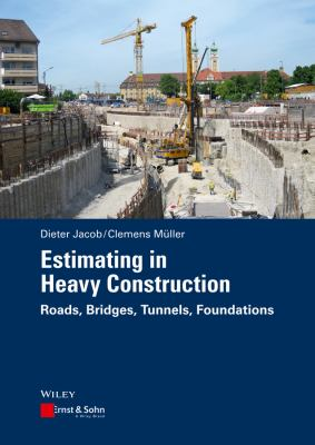 book cover: Estimating in Heavy Construction