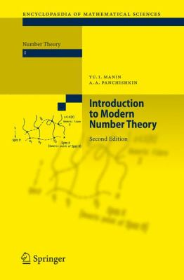 book covers: Introduction to Modern Number Theory