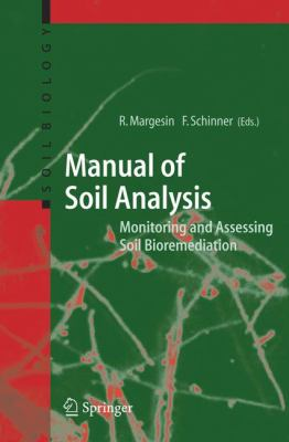 book cover: Manual for Soil Analysis - Monitoring and Assessing Soil Bioremediation