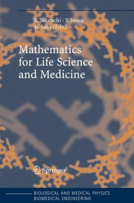 book cover: Mathematics for Life Science and Medicine