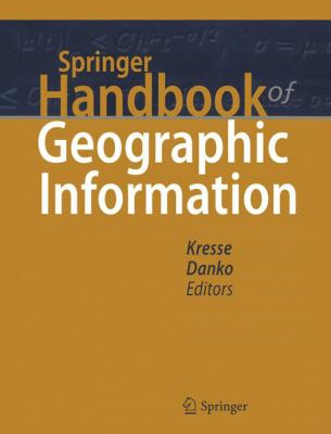 book cover: Springer Handbook of Geographic Information