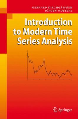 book cover: Introduction to Modern Time Series Analysis