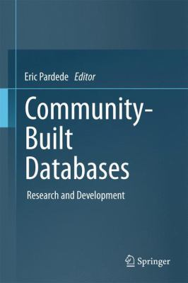 book cover: Community-Built Databases
