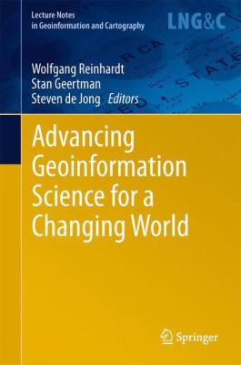 Book Cover : Advancing Geoinformation Science for a Changing World