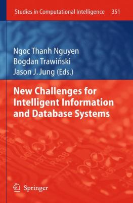 book cover: New Challenges for Intelligent Information and Database Systems
