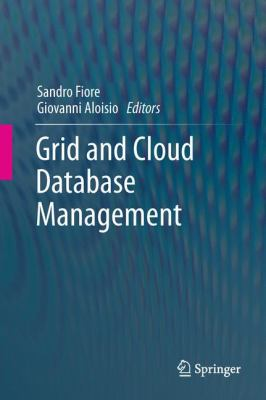 book cover: Grid and Cloud Database Management