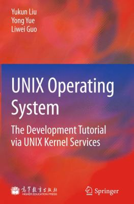 book cover: UNIX Operating System