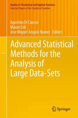 book cover: Advanced Statistical Methods for the Analysis of Large Data-Sets