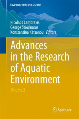 Book Cover : Advances in the research of aquatic environment. Volume 2