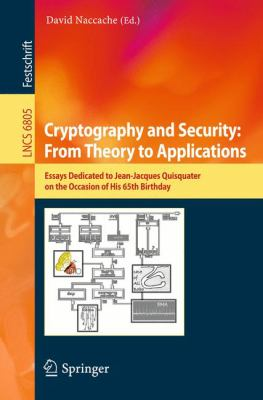 book cover: Cryptography and Security: from Theory to Applications