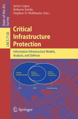 book cover:  Critical Infrastructure Protection