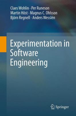 book cover: Experimentation in Software Engineering