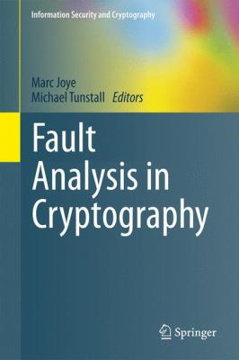 book cover: Fault Analysis in Cryptography