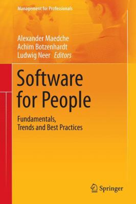book cover:  Software for People