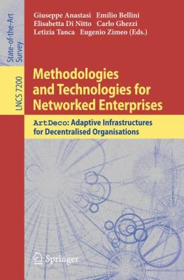 book cover: Methodologies and Technologies for Networked Enterprises