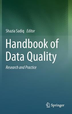 book cover: Handbook of Data Quality