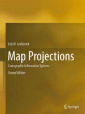 book cover: Map Projections: cartographic information systems