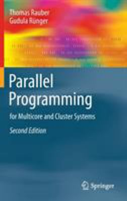 book cover: Parallel Programming for multicore and cluster systems