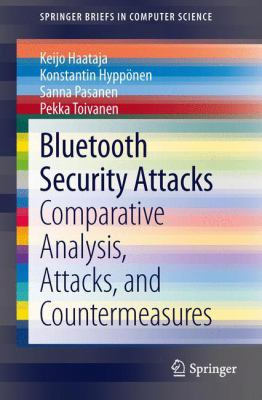 book cover: Bluetooth Security Attacks