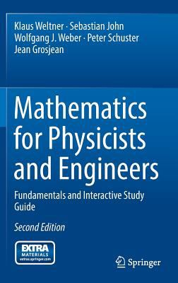 book cover: Mathematics for Physicists and Engineers: fundamentals and interactive study guide