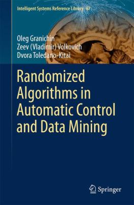 book cover: Randomized Algorithms in Automatic Control and Data Mining