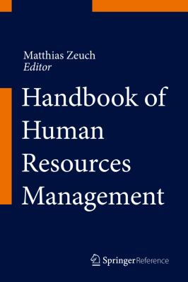 Book cover for Handbook of HR