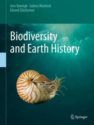 Book Cover : Biodiversity and Earth History