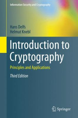 book cover: Introduction to Cryptographyhy