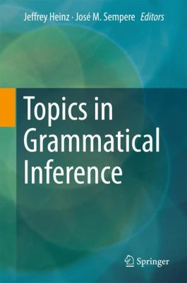 book cover: Topics in Grammatical Inference
