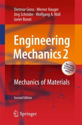book cover: Engineering Mechanics 2: Mechanics of materials