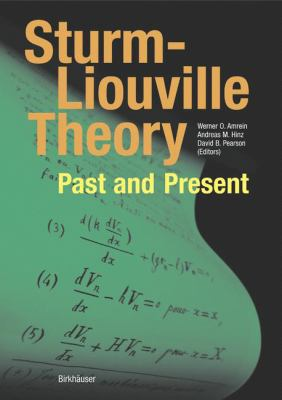 book cover: Sturm-Liouville Theory
