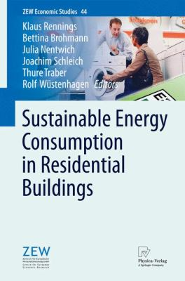 book cover: Sustainable Energy Consumption in Residential Buildings