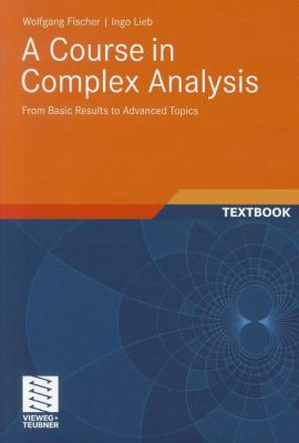book cover: A Course in Complex Analysis