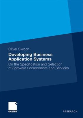 book cover: Developing Business Application Systems