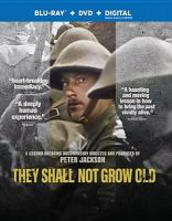 They Shall Now Grow Old (DVD Cover)