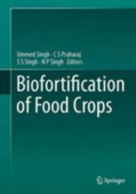book cover for Biofortification of Food Crops