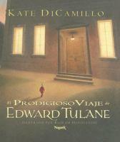 Cover image for El prodigioso viaje de Edward Tulane