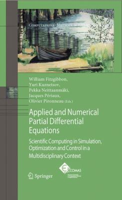 book cover: Applied and Numerical Partial Differential Equations