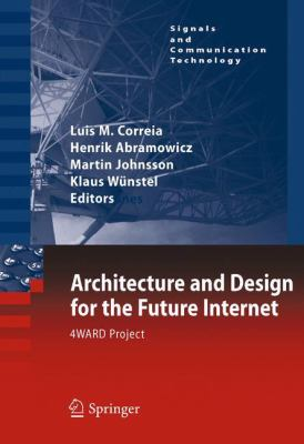 book cover: Architecture and Design for the Future Internet