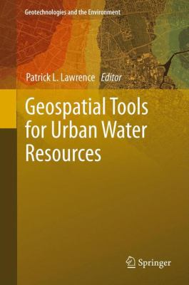 book cover: Geospatial Tools for Urban Water Resources