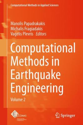 book cover: Computational Methods in Earthquake Engineering Vol 2