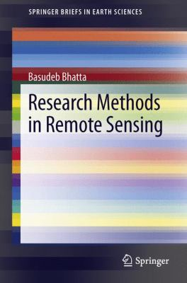 Book Cover : Research Methods in Remote Sensing