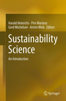Book Cover : Sustainability Science