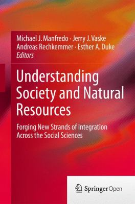 Book Cover : Understanding Society and Natural Resources