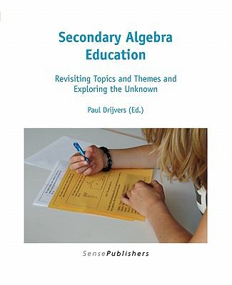 book cover: Secondary Algebra Education