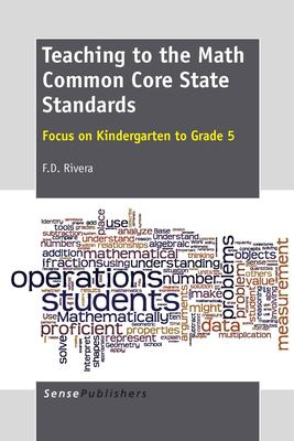 book cover: Teaching to the Math Common Core State Standards -  focus on kindergarten to grade 5