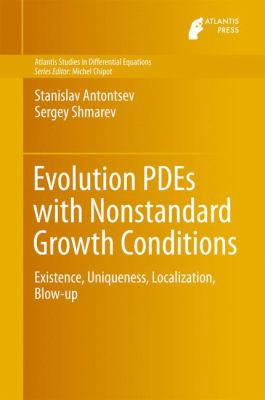 book cover: Evolution PDEs with Nonstandard Growth Conditions