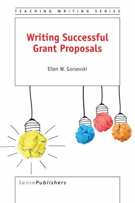 Book cover of Writing Successful Grant Proposals - click to open book in a new window